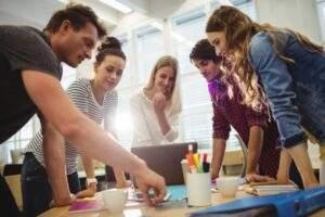¿Cuáles son los valores del trabajo en equipo?